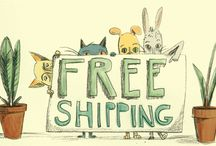 "Promotions / These are promotions like ""Free Shipping"" or discounts in my online store."