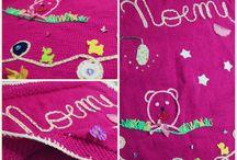 My Creations / Copertine in lana create interamente a mano