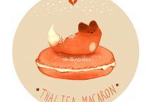 Thai tea fox