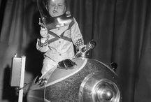 Femtiotalsbarn i yttre rymden