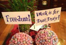 Work - Retirement / Promotion