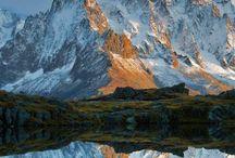 Lacs des Cheserys with Aiguilles de Chamonix, Chamonix, Haute-Savoie, France #HeathrowGatwickCars.com