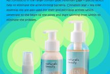 Teen Range / The Teen Face Wash has a rich foamy lather which removes and cleanses the skin from impurities, oiliness and acne forming bacteria, without drying the skin out. The Teen Spot Control is a serum which penetrates into the deeper layers of the skin and into the heart of the pores, to give quick effective healing of the skin and to eliminate the acne spots. Teen Moisturiser  helps nourish, heal and protect the skin, without making the face look or feel shiny or oily.