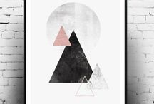 geometric posters