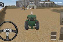 Traktör oyunu / birbirinden güzel traktörlerle tarla ve bahçelerde hep gezip hemde tarım la uğraşalım beraber çok güzel bir oyun hadi beraber dolaşalım ve işlerimizi bitirip çiftliklerin keyfine bakalım çok güzel oyunlar sizi bekliyor.