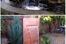 Cascade de grădină