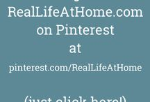 Angie has Moved! (Click for New Profile) / by Angie | RealLifeAtHome.com