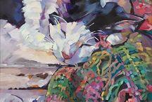 Karen Mathison Schmidt / Oil painting
