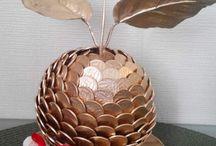 ozdoby z monet