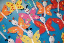 Farfalle coriandoli / Farfalline colorate