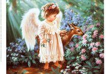 Engel und Elfen