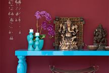 Casa canto de meditação em casa