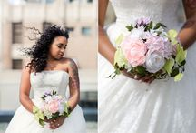 Wedding Flowers / Beautiful wedding bouquets, corsages and table settings from weddings shot by Soper Photography.