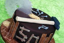 construction/carpenter cake
