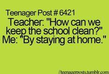 relatable school posts