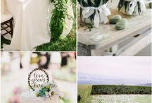 Green Colour Scheme / Just gorgeous.  Loving greens with natural neutral tones or with blues.