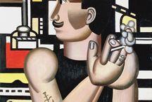 Artiste /  Fernand Léger  / Histoire des Arts : XXème Siècle // Peintre français (1881-1955) / by Valérie WINTZ