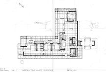 plan houses design FRANK LLOYD