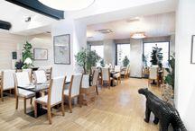 RESTAURANT BLUE WAGON / Restaurace interiér - Restaurant interior