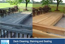 Deck Cleaning in Springdale AR / Best source for deck cleaning, staining and sealing in Springdale AR. Environmentally friendly, 3-step cleaning process makes your backyard deck look great and protects it from future damage. Call the experts at (479) 659-9663.