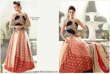 """Zoya Lehenga Cholis / The all time favorite designer lehenga """"Zoya forever Lehenga Cholis"""" is on sale at Nallu Collection online. Check out the latest styles and designs in this section.  http://www.nallucollection.com/lehenga.html?p=6"""