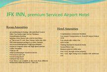 AMENITIES-JFK INN / Room & Hotel Amenities To Make You Feel More Comfortable