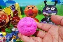 映画アンパンマン ミージャと魔法のランプ❤びっくらたまご(バスボール)アニメ&おもちゃ Anpanman toys