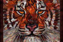 Mosaics - animals