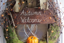 Autumn / Fall crafts and decoration. / by Vikki Lynne