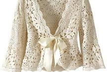 Crochet cardigan, sweater