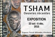Exposition solo de Tsham - Kinshasa 2015