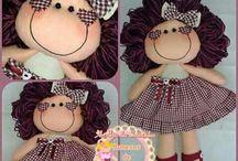 boneca pano