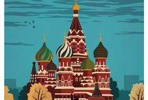 Travel Posters / Travel posters, vintage city posters, etc.