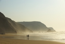 """West Coast of the Algarve - Costa Vicentina / The West coast of the Algarve in Portugal, """"Costa Vicentina"""" is covered by natural park and beaches.  One of the best areas in Europe to combine a beach and nature holiday."""