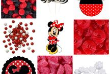 Minnie Mouse Birthday Party / Ideas and inspiration for a Minnie Mouse themed birthday party or baby shower! Plus candy buffet ideas!