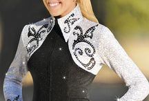 Western Horse Show Clothing / Show jackets shirts blouses  / by Russ Danielson
