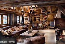maison en bois interieure