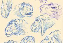 공룡,파충류