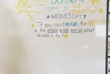 Wednesday Whiteboard Messages