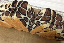 leopard loaf bread