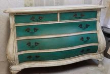 meubles peints