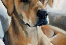 Dog art / Dogs!