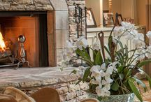 For the Home - Fireplaces / From traditional to modern, fireplaces can be a lovely centerpiece feature in your home. Style it up with these design and décor ideas.
