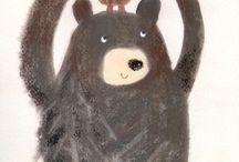 kreslená zvířátka