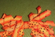 Korker / Corkscrew Hair Bows / Home made / Handmade Korker Hair Bows  $3 or 2 for $5 / by Amanda Soto