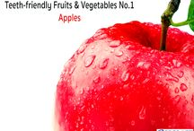 Teeth-friendly Fruits & Vegetables / Get to know 10 of the fruits and vegetables we find everyday that are teeth-friendly