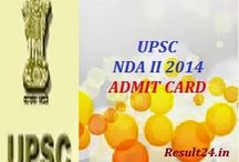 NDA Admit Card 2015 / Candidates who are going to attempt the NDA I examinations conducting by the UPSC on April 19th, 2015 are informed that bringing Admit Card is essential to enter in the examination hall and your Admit Card will be available on the official website from the March 2015.