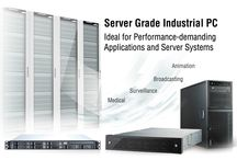 Server Grade Industrial PC / Industrial servers, server boards and server chassis are designed with enterprise-class chipsets, support multi core processors, hot-swap and buffered memory to maximize computing productivity.