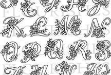 Monograme si litere / Monograme