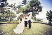 하와이웨딩 heeia beach park hawaii wedding